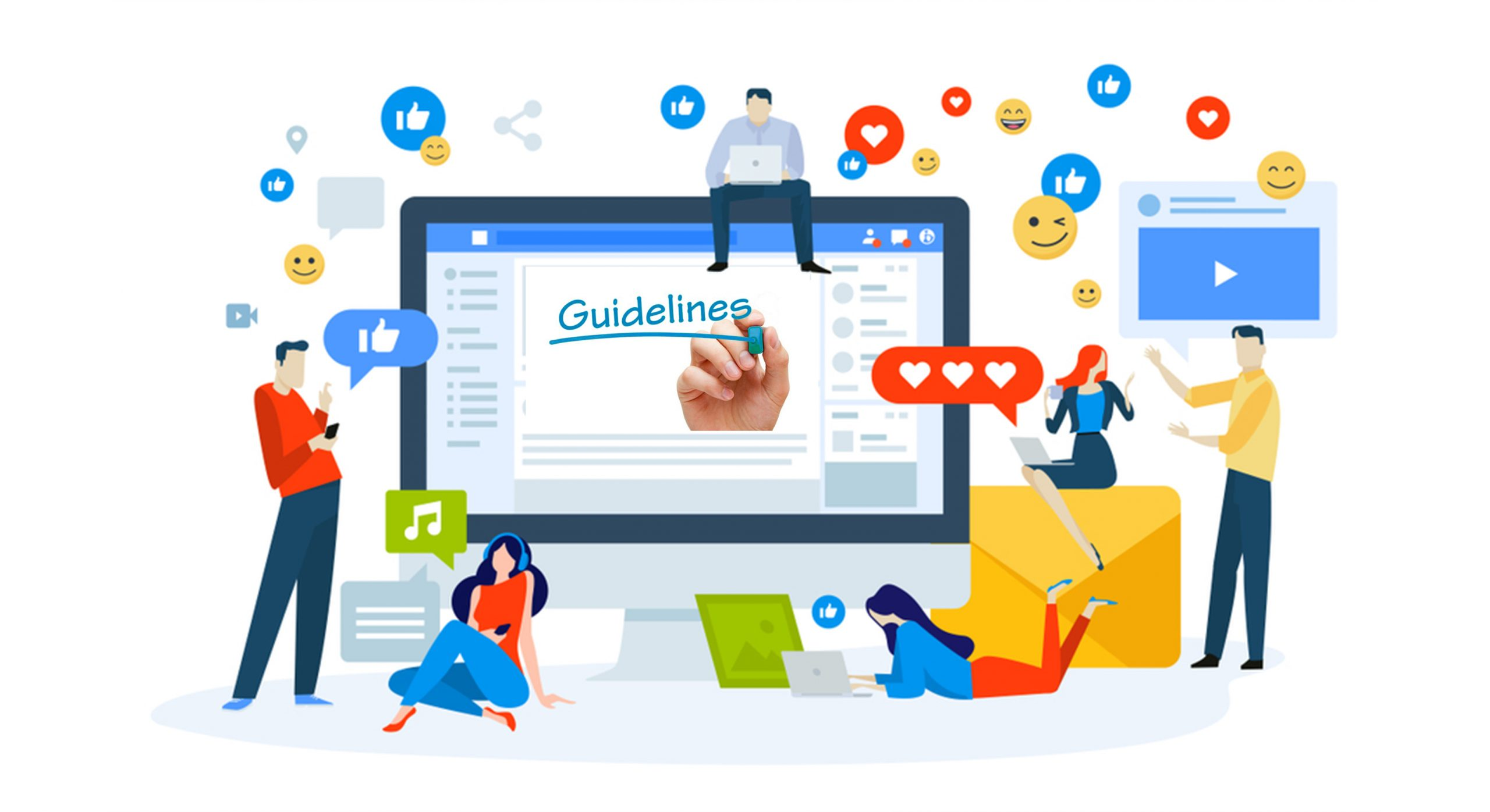 Guideline to setup Social Media for Business