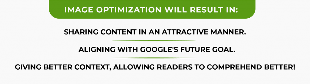 Image optimization to boost organic traffic